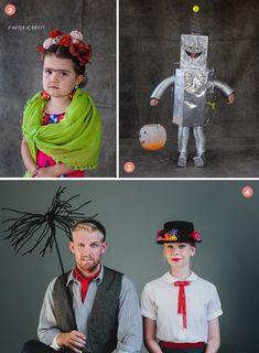 Roundup: 11 Quick and Easy DIY #Halloween Costume Ideas