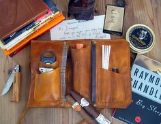 Clemens Signature Cigar, Pipe & Tobacco Pouch MXS