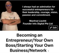 This FB group is dedicated to new entrepreneurs to ease their transition into entrepreneurship as a peer group.Check it out and see if it may help you. Business Networking, Starting Your Own Business, Entrepreneurship, Leadership, Success, Passion, Group, Digital, Check