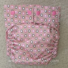 Using Buttonhole Elastic to Make Diapers