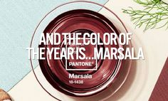 And the Color of the Year is Marsala.....// Get on trend in 2015 and incorporate the color of the year into your space. This deep red wine color is a perfect color to make a space feel cozy and homey. #dormify #dormdecor #apartmentdecor #coloryourspace #marsala #pantone
