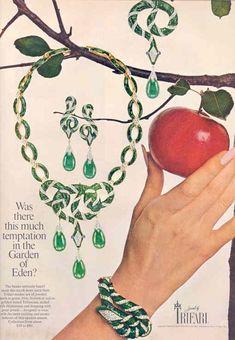 Trifari .. The Garden of Eden Collection