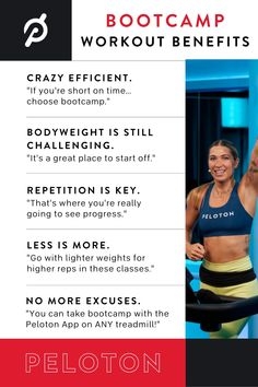 5 reasons to try a Peloton Bootcamp class You Fitness, Fitness Goals, Fitness Motivation, Boot Camp Workout, Body Weight, Benefit, Challenges, Advice, Inspirational Quotes