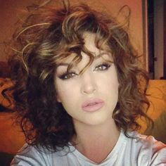 15 Easy Hairstyles for Short Curly Hair   Short Hairstyles & Haircuts 2015