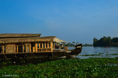 Houseboat, Aleppey, Kerala, India