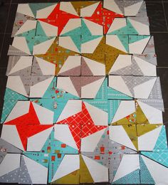 little apples firecracker quilt wip