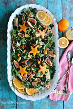 Factors You Need To Give Thought To When Selecting A Saucepan Festive Kale Salad, Butternut Squash And Honey Rosemary Vinaigrette Healthy Vegetable Recipes, Spinach Recipes, Fruit Recipes, Salad Recipes, Delicious Recipes, Yummy Food, Main Dish Salads, Healthy Side Dishes, Vegetable Side Dishes