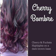 Hair Color And Cut, Haircut And Color, Winter Hairstyles, Pretty Hairstyles, Hair Affair, Tips Belleza, Dream Hair, Hair Highlights, Purple Highlights