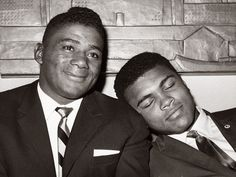 Muhammad Ali and Floyd Patterson Floyd Patterson, Muhammad Ali Boxing, Star Trek Posters, Heavyweight Boxing, Boxing History, Profile Pictures Instagram, Float Like A Butterfly, Boxing Champions, Hometown Heroes