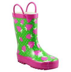 I LOVE rainboots!