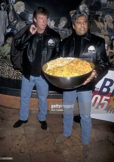 "Actor Larry Wilcox and actor Erik Estrada present memorarilias from the movie ""CHiPs to Planet Hollywood on October 1998 at Planet Hollywood, 140 West Street in New York City. Get premium, high resolution news photos at Getty Images Larry Wilcox, David Soul, Chips, 70s Tv Shows, Planet Hollywood, Famous Movies, New York Street, Old Tv, Laughing So Hard"