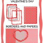 This zip packet contains all the papers and borders you see on the cover . These are the original work of  Teaching for Fun. Commercial and Perso...