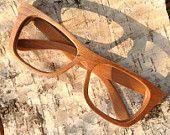 Cherry wood Walker2011handmade wooden  large size XXL eyeglasses sunglasses