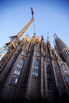 La Sagrada Familia, Arq. Antoni Gaudí (1852-1926), Barcelona, España.
