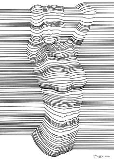 Formentera - tekeningen optische illusies 2