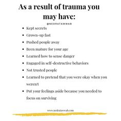 Living with trauma can be difficult at times its okay to take your time and deal with it at your own pace - . Mental And Emotional Health, Emotional Healing, Emotional Abuse, Mental Health Awareness, Emotional Intelligence, Trauma, Inner Child Healing, Coaching, Psychology Facts