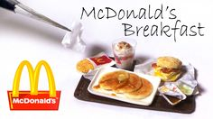 Hey guys! Today we're making a few pieces inspired by McDonald's breakfast menu from polymer clay :) I decided to make the hotcakes, the hashbrown, bacon egg...