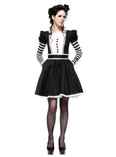 Dark Alice Dress - Hell Bunny
