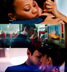 My love for you is perfectly logical. --- Spock and Uhura in Star Trek [2009]