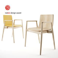 Free 3d model: Malmo Chair by Pedrali  http://dimensiva.com/malmo-chair-by-pedrali/