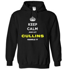Keep Calm And Let Cullins Handle It - #tshirt flowers #off the shoulder sweatshirt. SATISFACTION GUARANTEED => https://www.sunfrog.com/Names/Keep-Calm-And-Let-Cullins-Handle-It-rmpxw-Black-13069480-Hoodie.html?68278