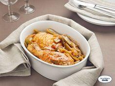 Pollo alla romagnola con peperoni