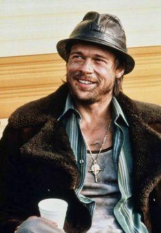 "Brad Pitt en ""Snatch"", 2000"