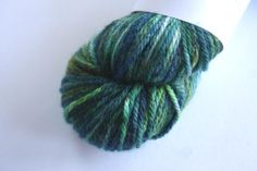 Aran - 100% British Bluefaced Leicester (superwash) yarn - From the Air by OxfordKitchenYarns