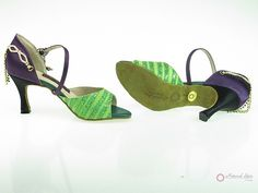 Natural Spin Designer Ladies Shoes: Salsa Shoes/Tango Shoes/Fashion Shoes(Open T