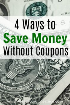 Ways to Save Money W