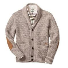 cardigan with elbow patches - Google Search