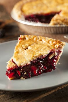 Michigan grows the majority of tart cherries in the US, and the locals love to bake cherry pies. Make like Michiganders and stock up on tart cherries when you spot them, as their season is cruelly short. In a lurch? Frozen or canned are a good stand-in for fresh options, especially when cooking them down, as in a pie.
