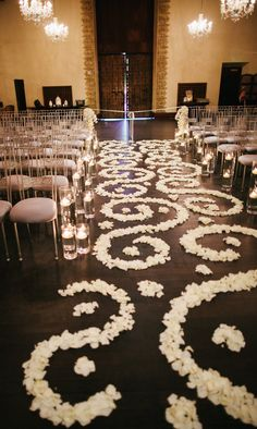 10 unique wedding ceremony ideas to steal wedding rose petals ceremony gallery ceremony board featured photographer gina meola photography junglespirit Images