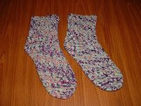Treasures Made From Yarn: New Shelled Sock Pattern