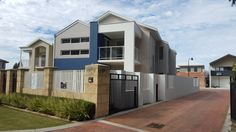 Bassendean - 3036 - Custom designed home on a narrow block front elevation