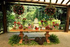 Decoração do casamento lindo da Karen que contamos a história lá no Blog!