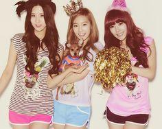 #seohyun #taeyeon #tiffany #taetiseo