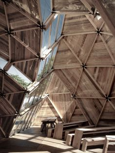 a Temporary Geodesic Dome -> a Permanent Structure