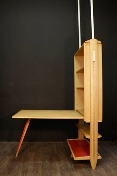 1950s Shelves Desk by Maurice Pre and Janette Laverriere 2