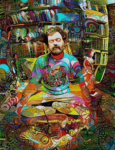 Psychedelic Enlightenment – Keep Your Eye Focused Art And Illustration, Fantasy Kunst, Fantasy Art, Terence Mckenna, Psychadelic Art, Psychedelic Drawings, Stoner Art, Psy Art, Desenho Tattoo