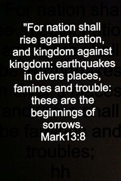 The Rise of IS: Fulfilling End Times Prophecy? Bible Verses Quotes, Bible Scriptures, Jw Bible, Prayer Quotes, Jesus Quotes, End Times Prophecy, God Jesus, Jesus Christ, Savior
