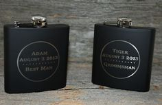 Wedding party favors Set of 2 engraved by MemoriesMadeToronto