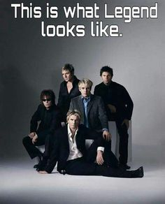 duran duran 2003 - The original line up, with Andy Taylor. Nick Rhodes, Simon Le Bon, Peter Gabriel, John Taylor, Great Bands, Cool Bands, Birmingham, Still In Love, My Love