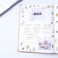 Weekly Spread Autumn 2019 / Bullet Journal by Bullet Journal 2019, Weekly Spread, Bujo, Wildlife, Autumn, Fall Season, Fall