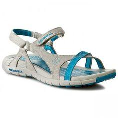 Sandały MERRELL - Lissum Lattice J196393C Silver/Blue