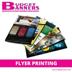 [PRODUCT] Spread your branding, specials and offerings with flyers! Hand them out at malls or slip them beneath windscreen wipers to increase brand awareness and, ultimately, increase your sales. We print in various sizes, double/single sided.