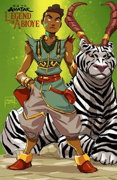 Avatar the Legend of Abioye by Marcus Williams