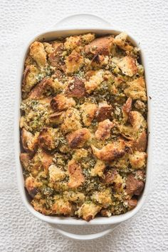 How To Make The Perfect Classic Stuffing For Thanksgiving