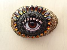 Beaded Eye Betsy Youngquist www.byart.com $175