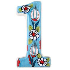 House Address Numbers, Address Signs, Door Numbers, Ceramic House Numbers, Ceramic Houses, Housewarming Gifts, Door Signs, Mosaic Art, House Warming